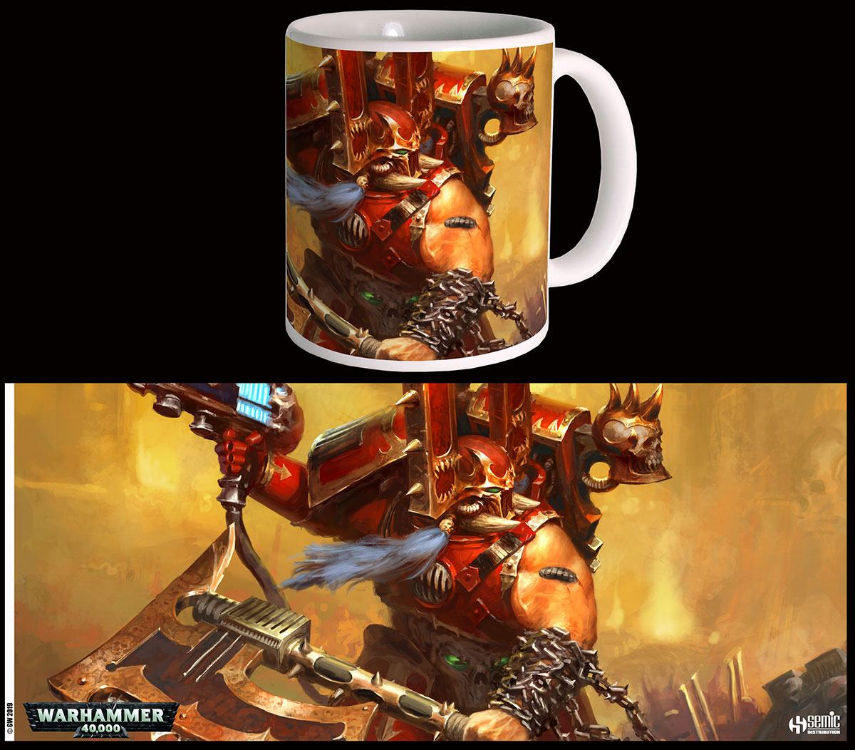 Warhammer 40K Mug Kharn the Betrayer