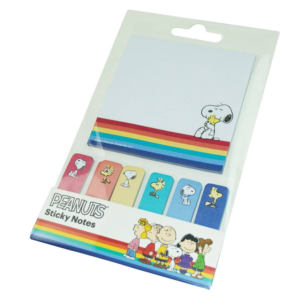 Peanuts Sticky Notes Set Happy