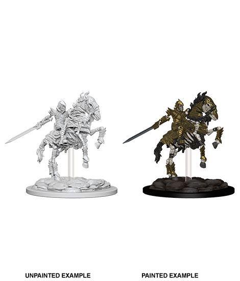 Pathfinder Battles Deep Cuts Unpainted Miniature Skeleton Knight on Horse Case (6)