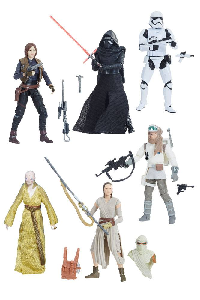 Star Wars Black Series Vintage Action Figures 10 cm 2018 Wave 1 Assortment (8)