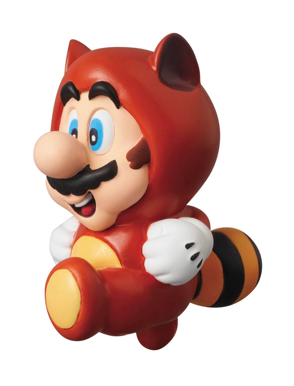 Nintendo UDF Series 1 Mini Figure Tanuki Mario (Super Mario Bros. 3) 6 cm