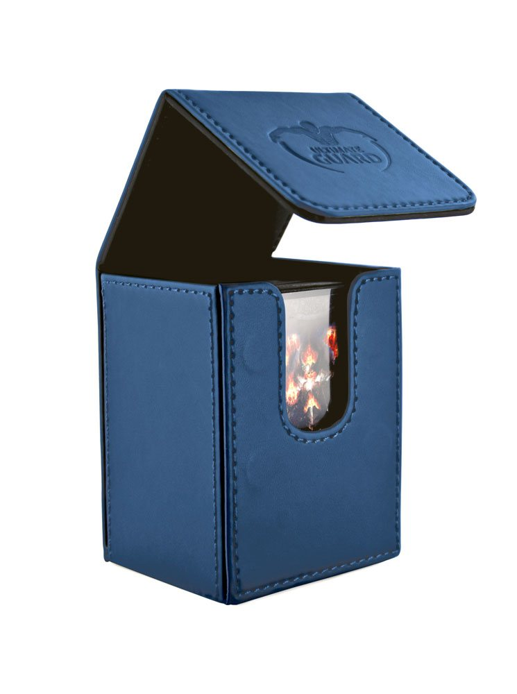Ultimate Guard Flip Deck Case 80+ Standard Size Dark Blue