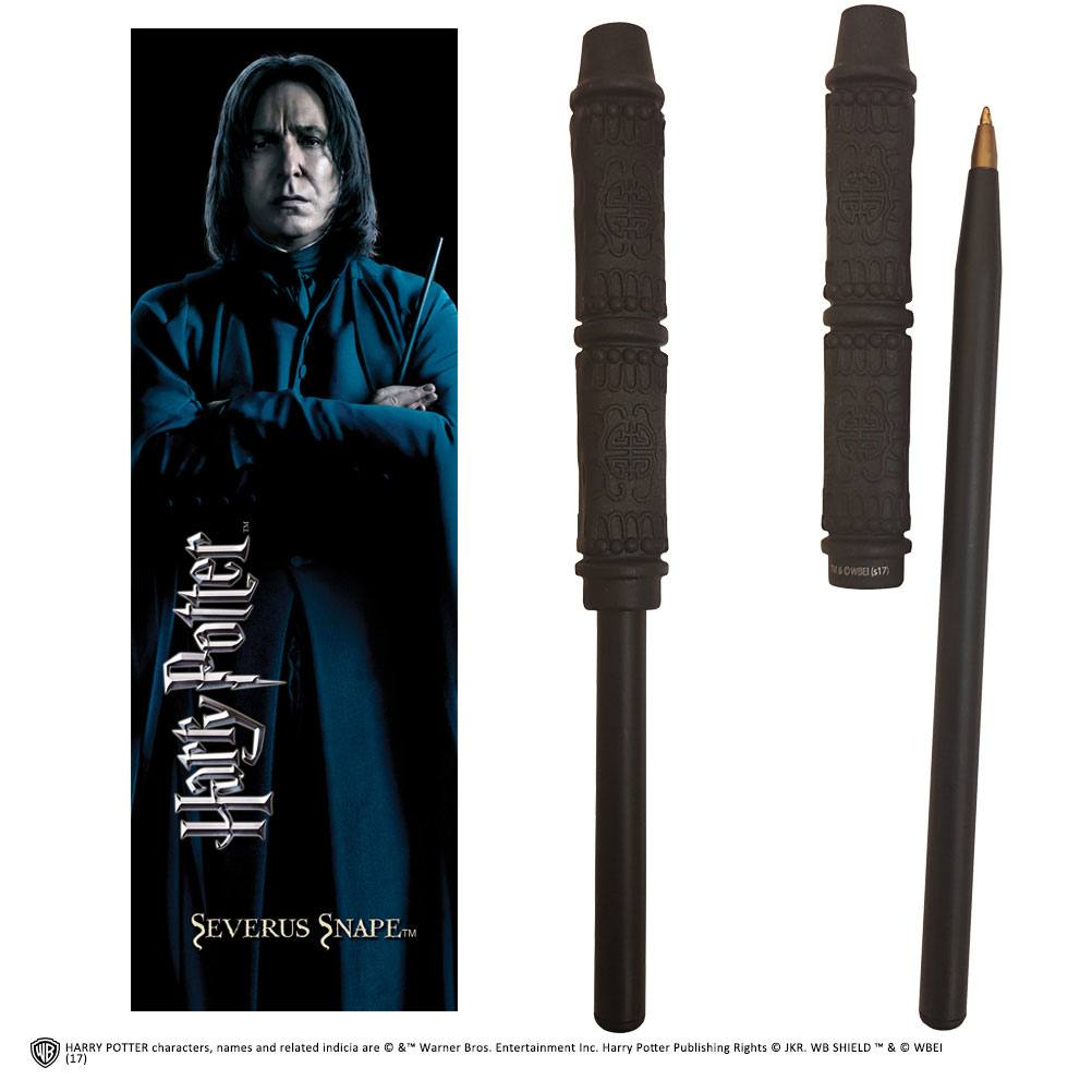 Harry Potter Pen & Bookmark Snape