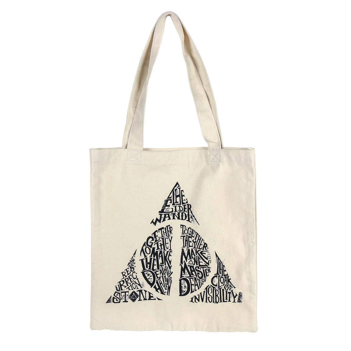 Harry Potter Tote Bag Deathly Hallows