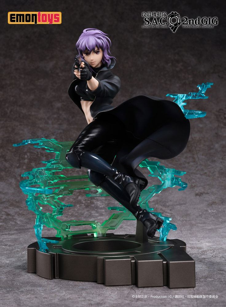 Ghost in the Shell: S.A.C. 2nd GIG PVC Statue 1/7 Motoko Kusanagi 25 cm