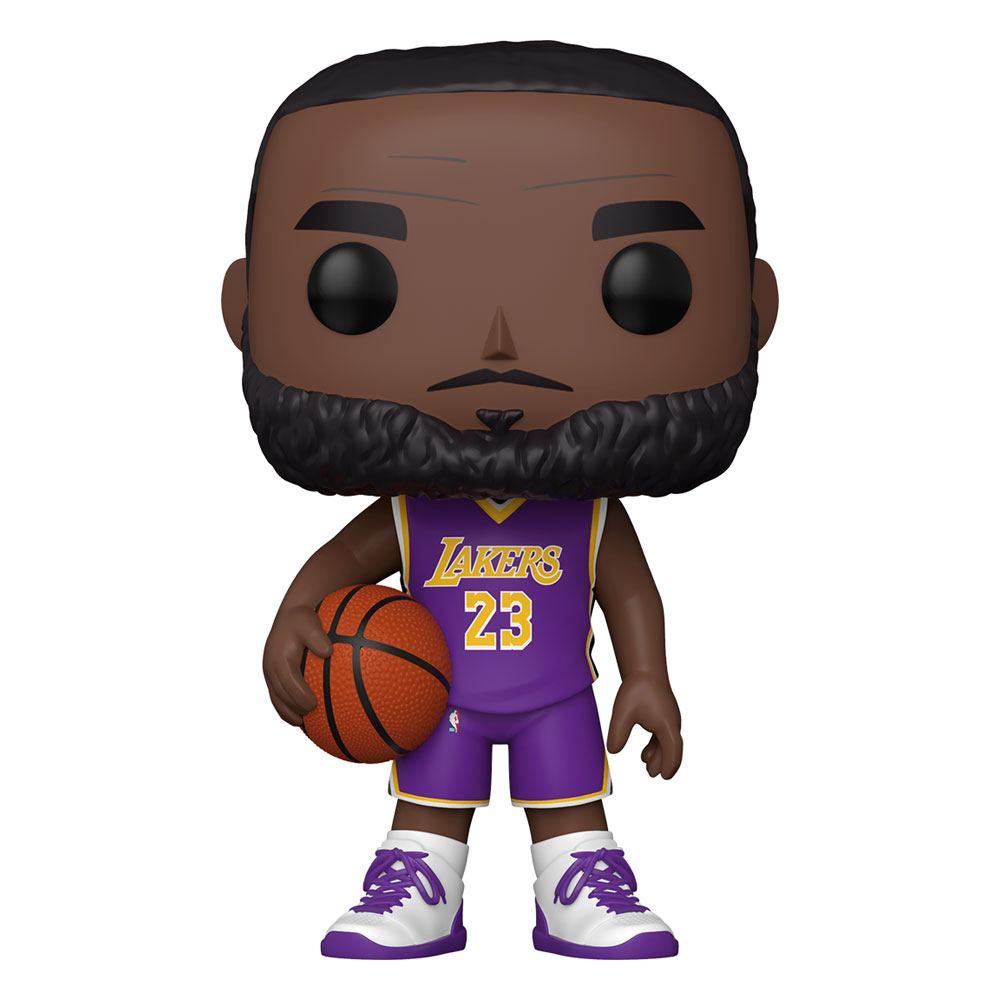 NBA Super Sized POP! Vinyl Figure LeBron James (Purple Jersey) 25 cm