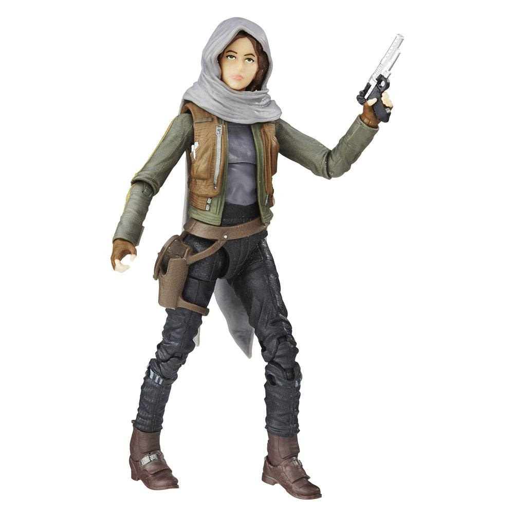 Star Wars Black Series Action Figure #22 Sergeant Jyn Erso (Jedha) 15 cm --- DAMAGED PACKAGING