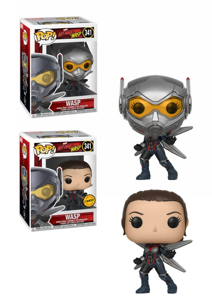 Ant-Man and the Wasp POP! Movies Vinyl Figures Wasp 9 cm Assortment (6)