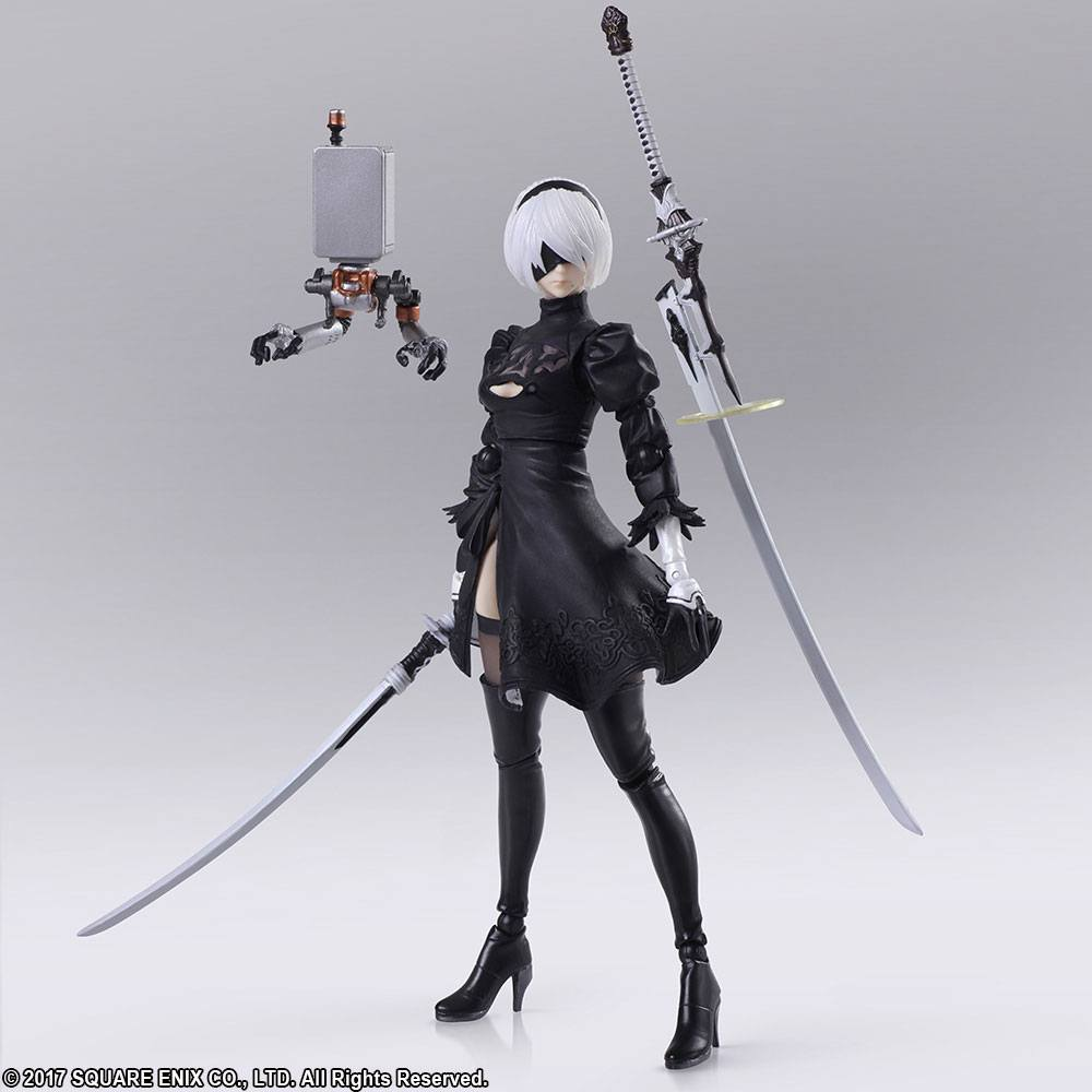 NieR Automata Bring Arts Action Figure YoRHa No.2 Type B Version 2.0 14 cm