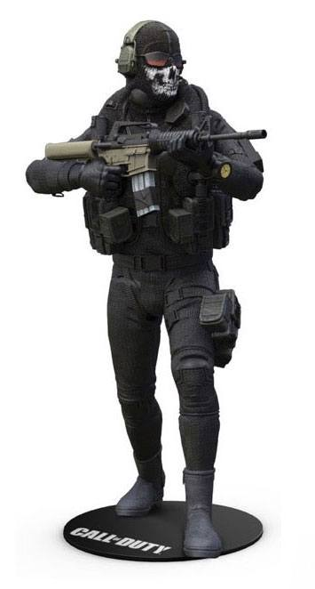 Call of Duty Action Figure Simon 'Ghost' Riley incl. DLC 15 cm