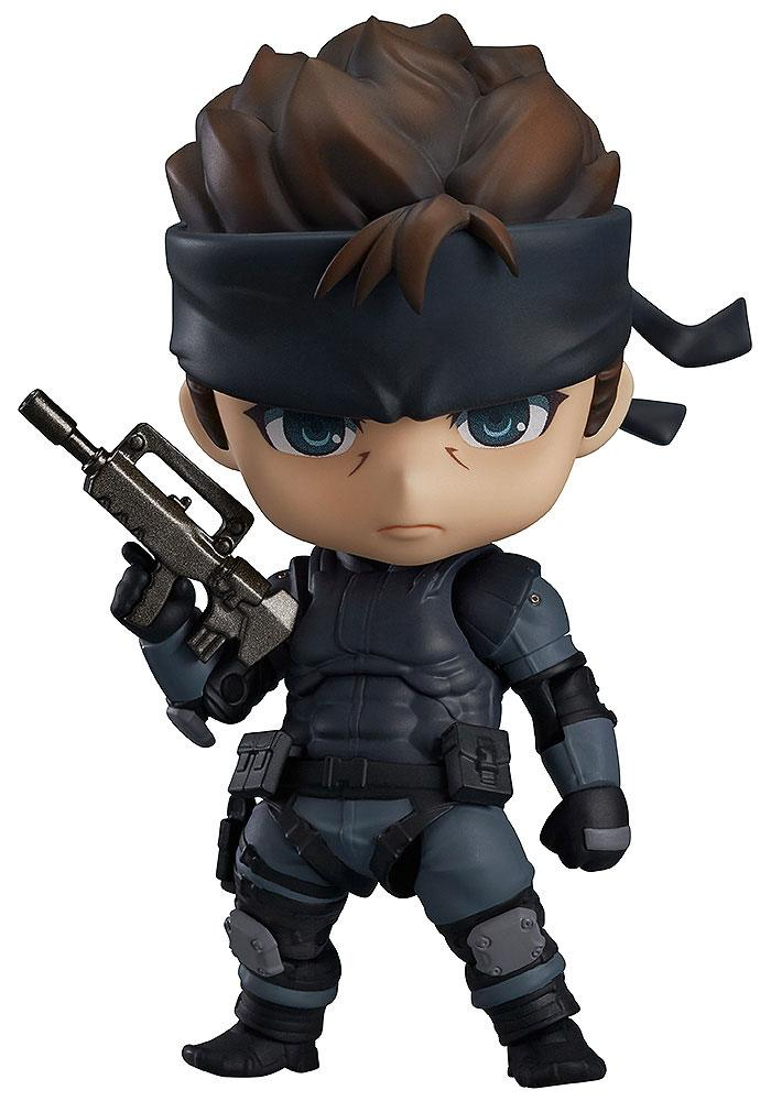 Metal Gear Solid Nendoroid Action Figure Solid Snake 10 cm