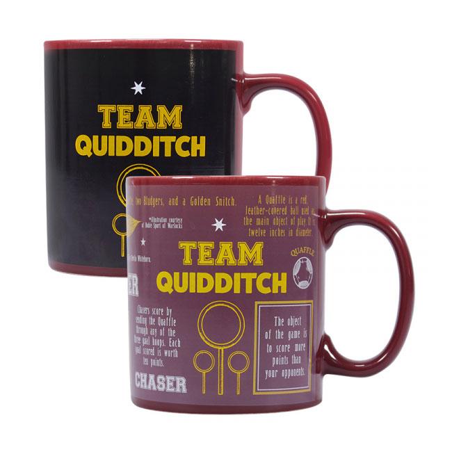 Harry Potter Heat Change Mug Quidditch