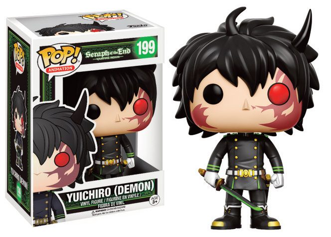 Seraph of the End POP! Animation Vinyl Figure Yuichiro (Demon) 9 cm