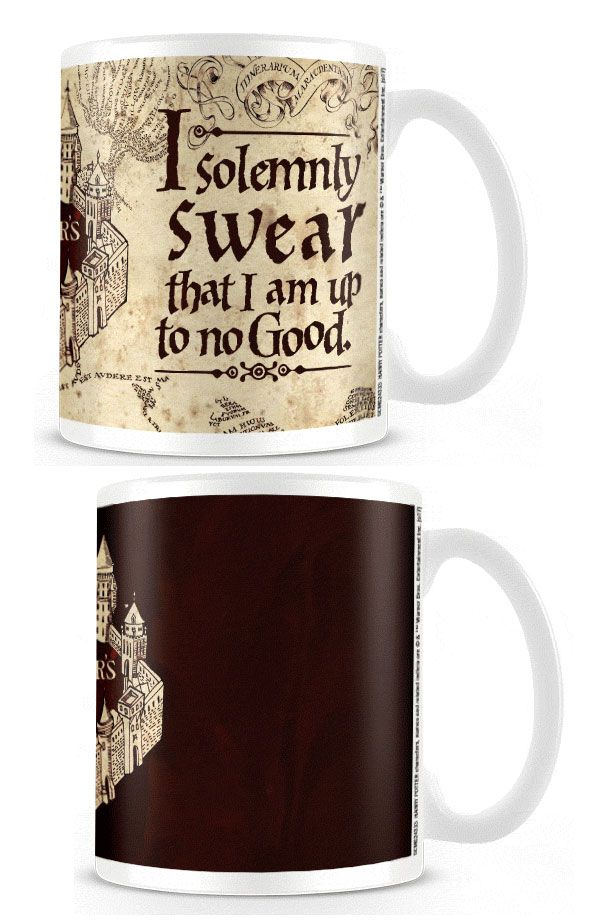 Harry Potter Heat Change Mug Marauder's Map