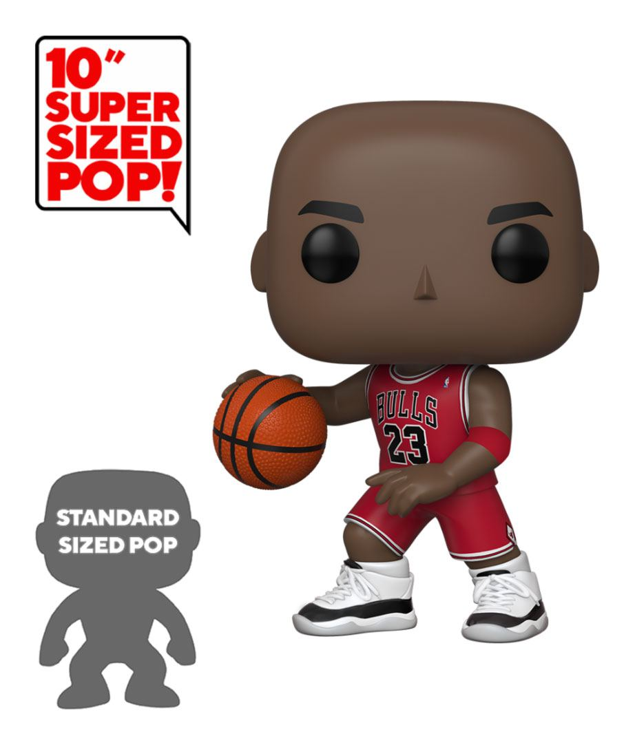 NBA Super Sized POP! Vinyl Figure Michael Jordan (Red Jersey) 25 cm