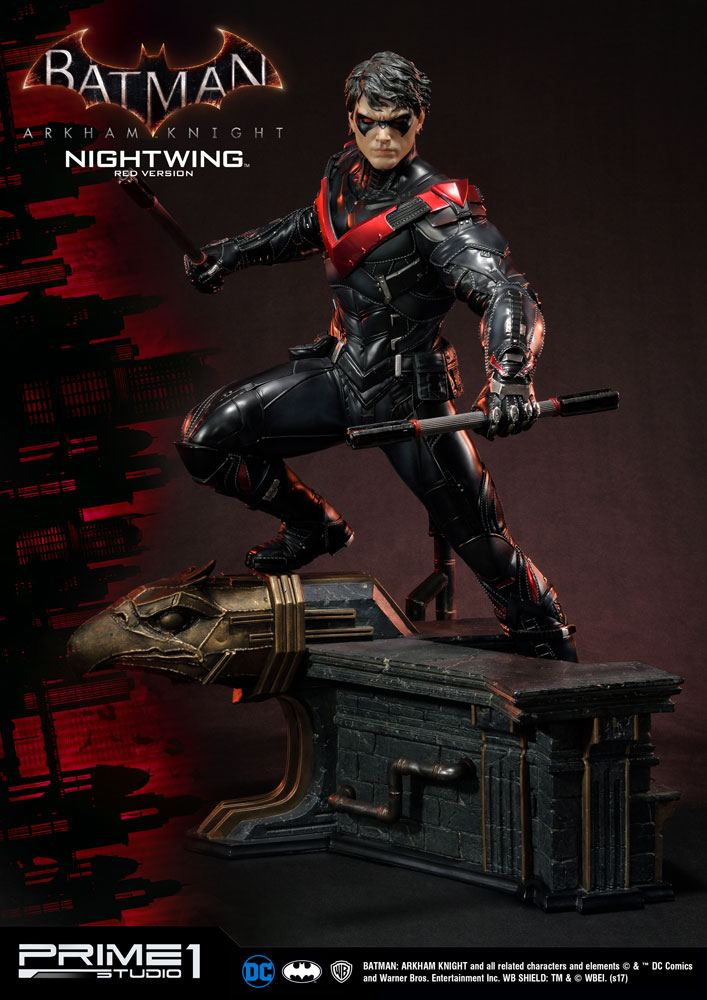 Batman Arkham Knight Statue 1/3 Nightwing Red Version 68 cm