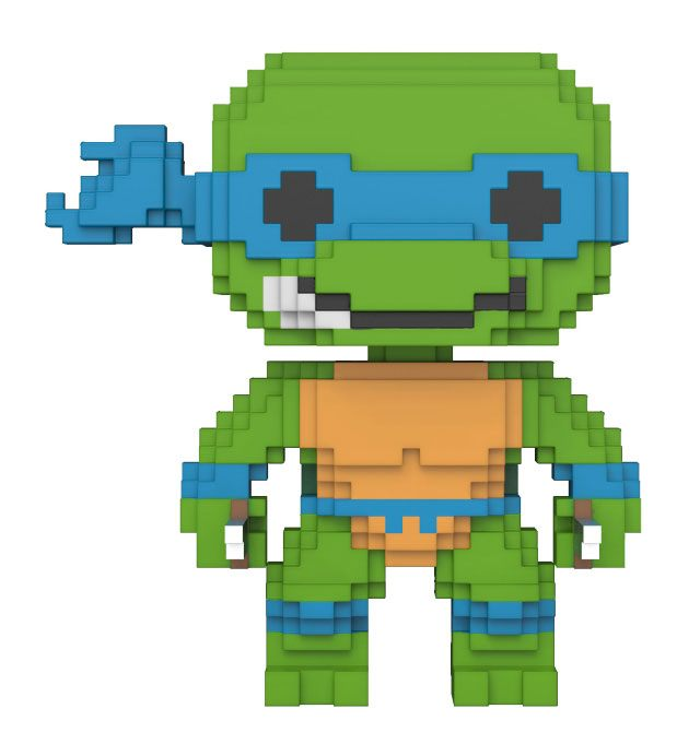 Teenage Mutant Ninja Turtles POP! 8-Bit Vinyl Figure Leonardo 9 cm