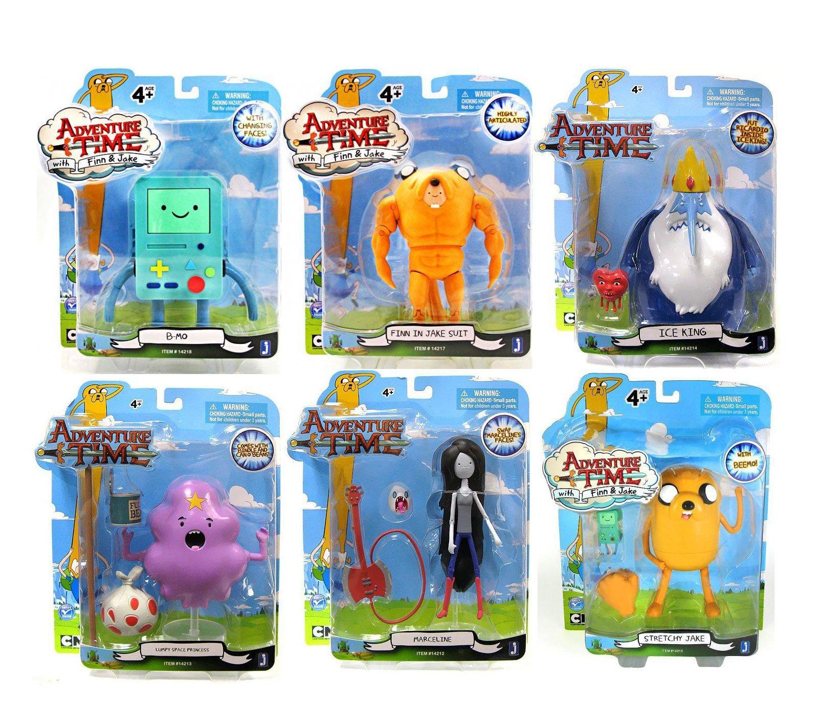 Adventure Time Action Figure Assortment 13 cm (6)