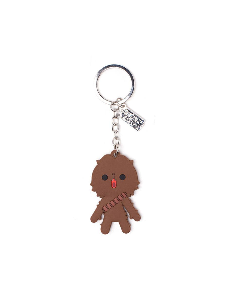 Star Wars Solo Rubber Keychain Chewbacca
