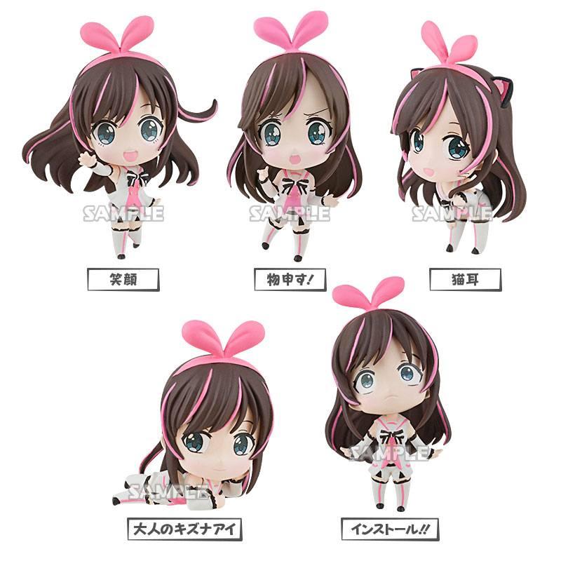 Ai Kizuna Trading Figure 5 cm Assortment (6)