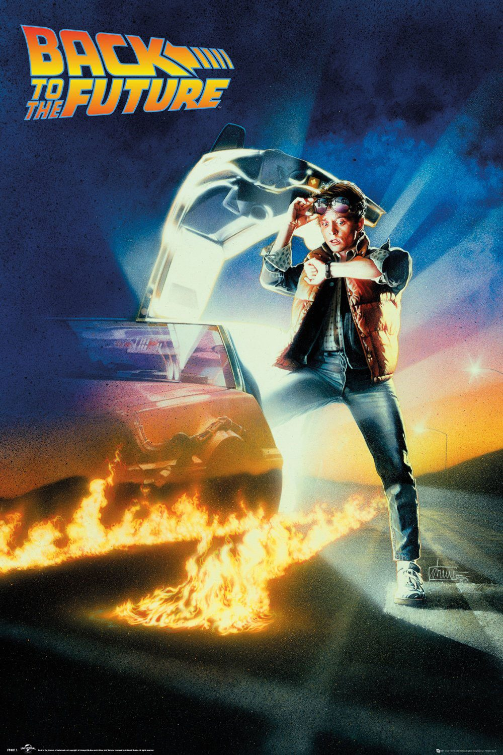 Back to the Future Poster Pack Key Art 61 x 91 cm (5)
