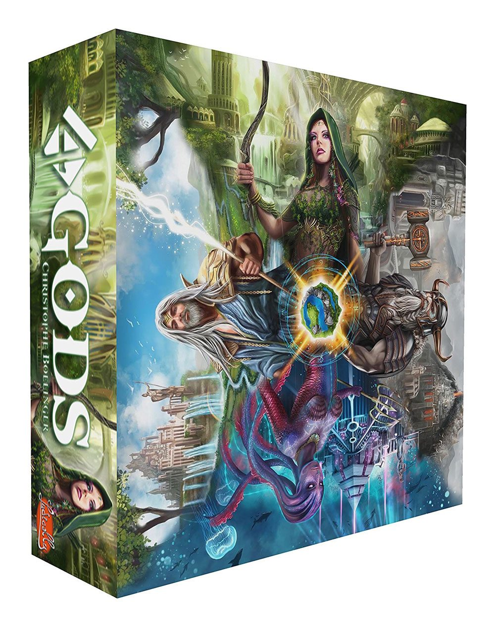 4 Gods Board Game *English Version*