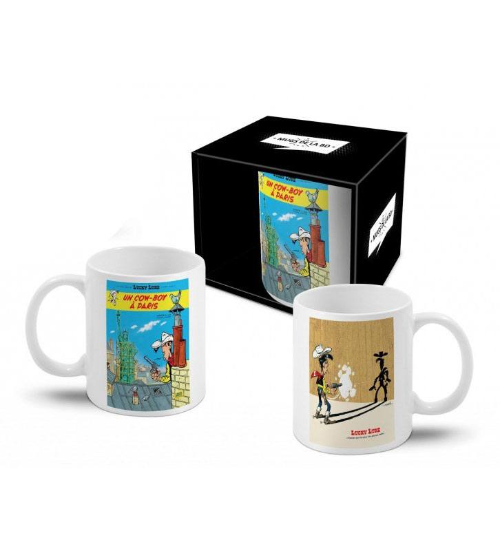 Lucky Luke Mug Cow-Boy à Paris