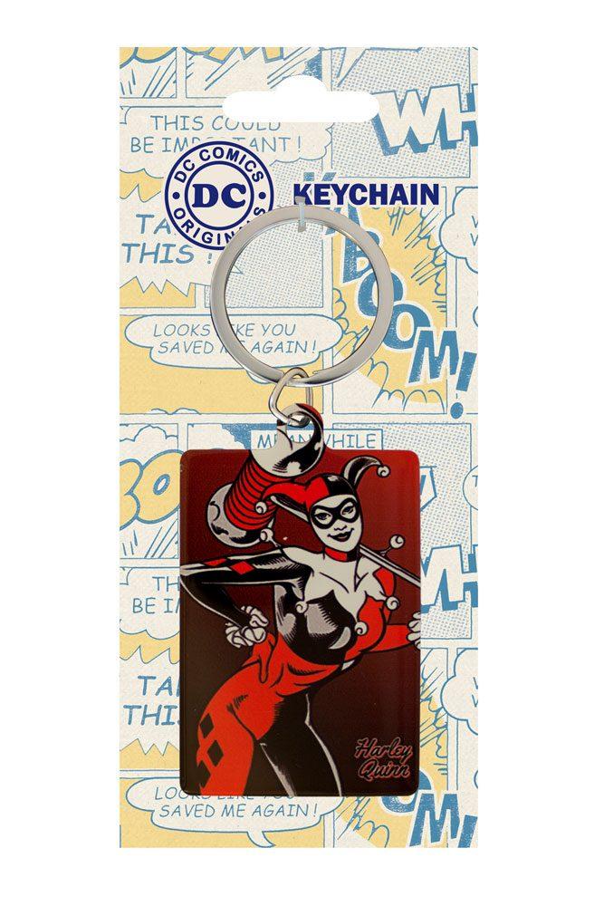 DC Comics Metal Keychain Harley Quinn 6 cm