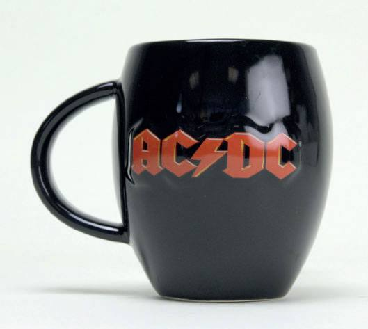 AC/DC Oval Mug Logo