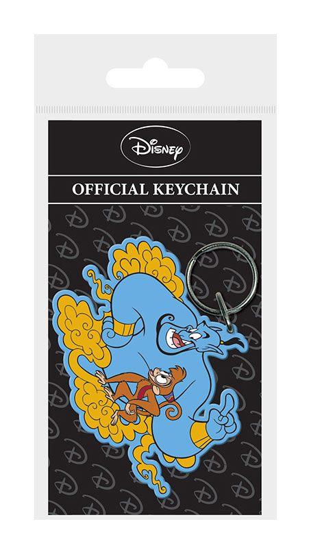 Aladdin Rubber Keychain Genie & Abu 6 cm