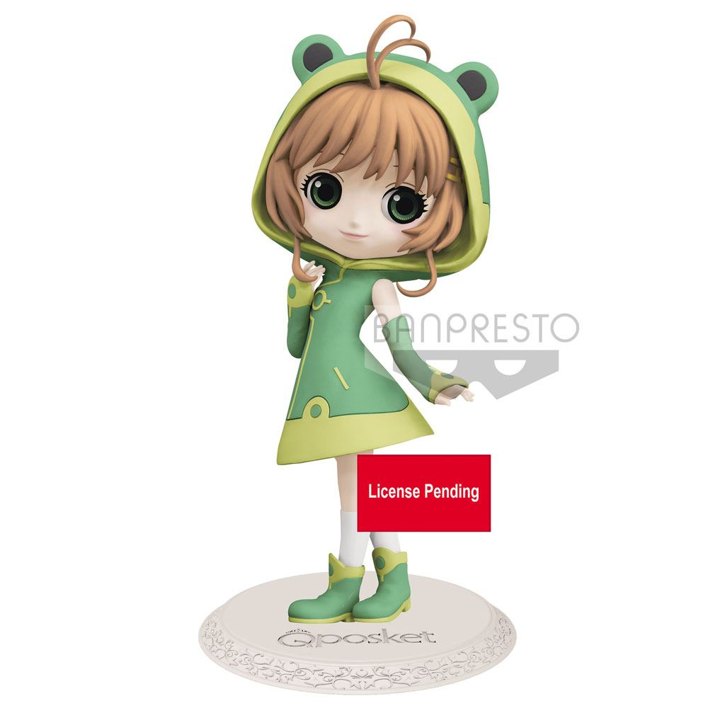 Cardcaptor Sakura Q Posket Mini Figure Sakura Kinomoto Ver. A Vol. 2 14 cm