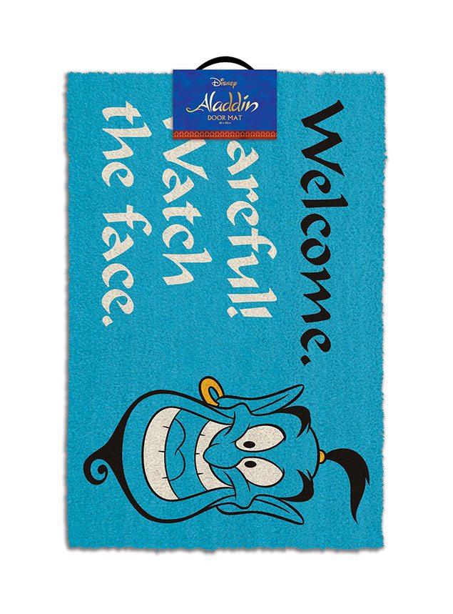 Aladdin Doormat Watch the Face 40 x 60 cm