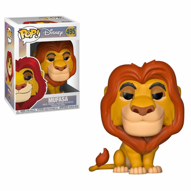 The Lion King POP! Disney Vinyl Figure Mufasa 9 cm