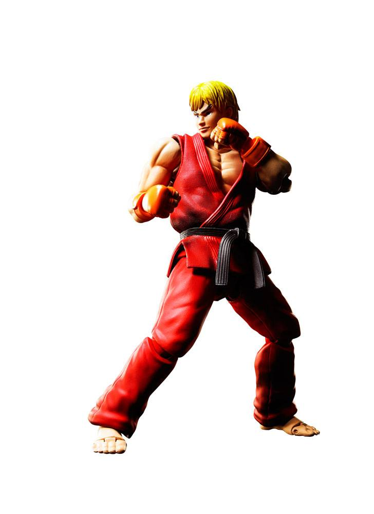 Street Fighter S.H. Figuarts Action Figure Ken Masters 15 cm