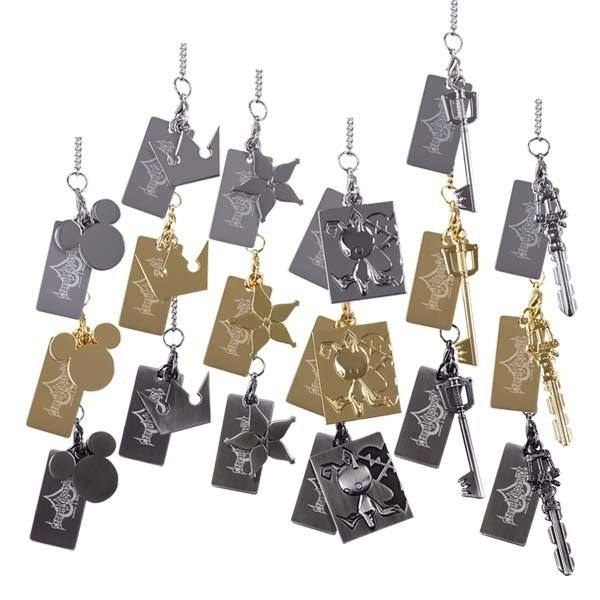 Kingdom Hearts Diecast Mini Charm Collection 10 cm Assortment (18)