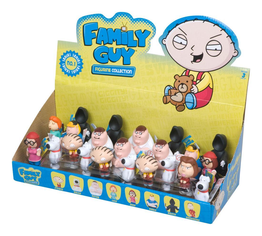 Family Guy Mini Figures 5-8 cm Series 1 Display (24)