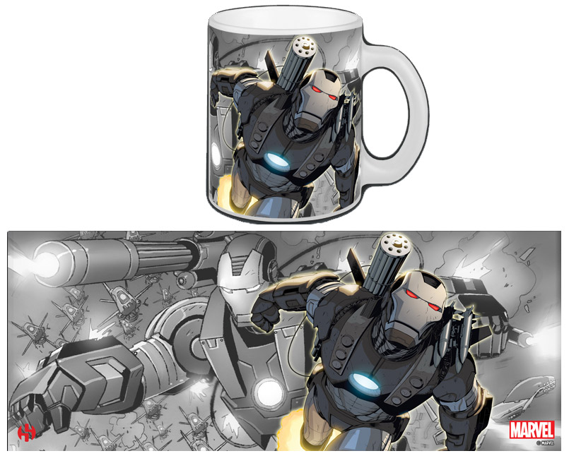 Iron Man Mug War Machine