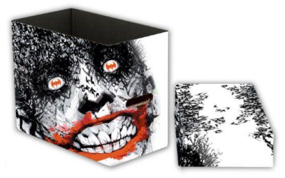 DC Comics Storage Boxes Joker Bats 23 x 29 x 39 cm Case (5)