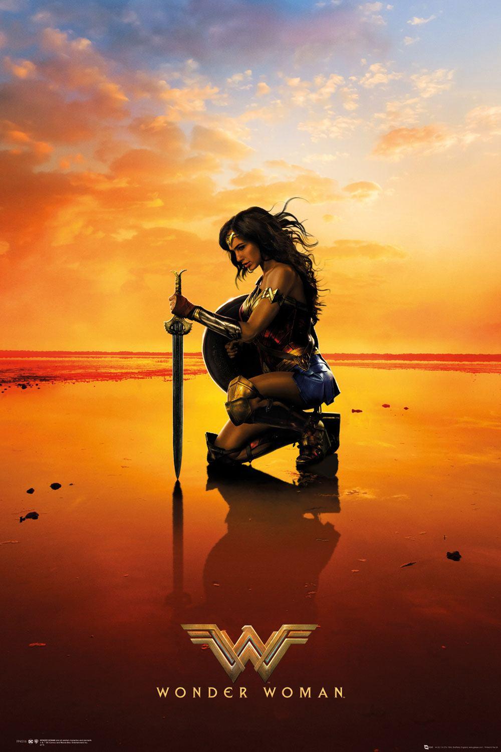 Wonder Woman Poster Pack Kneel 61 x 91 cm (5)