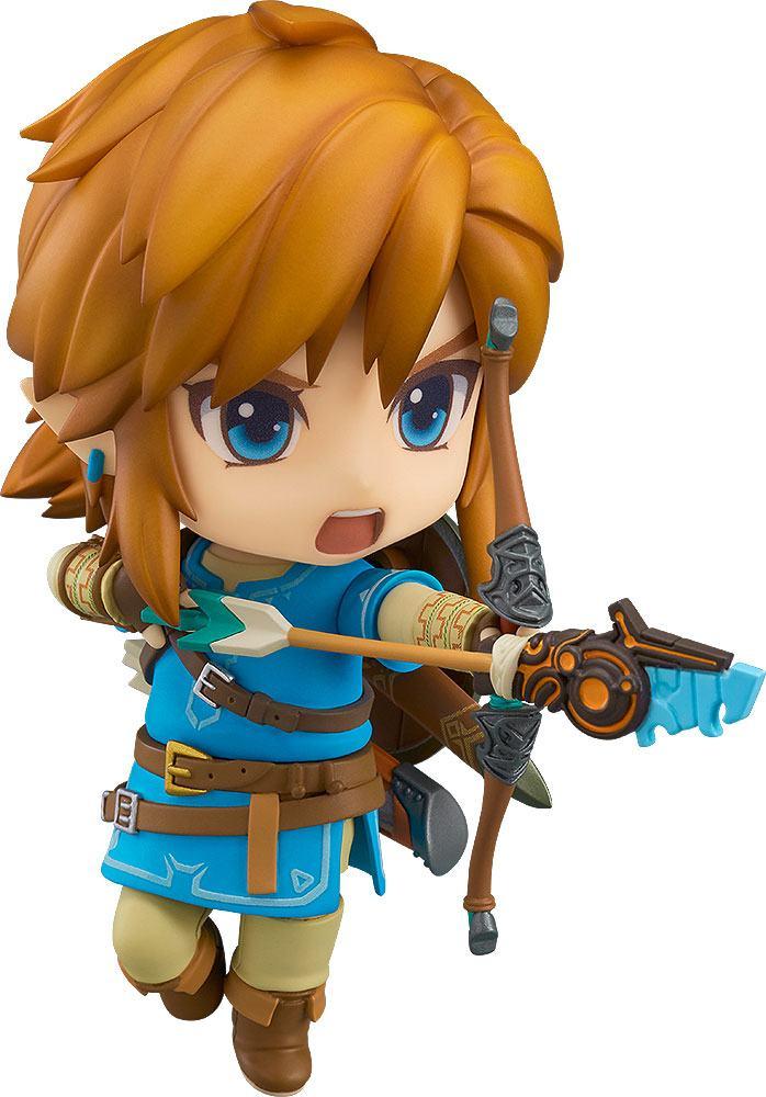 The Legend of Zelda Breath of the Wild Nendoroid Action Figure Link 10 cm