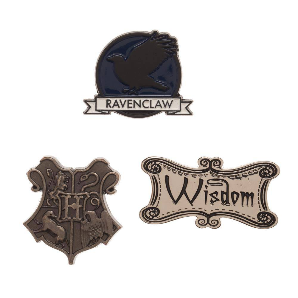 Harry Potter Ravenclaw Lapel Pin Set 3-Pack