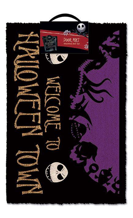 Nightmare Before Christmas Doormat Halloween Town 40 x 60 cm