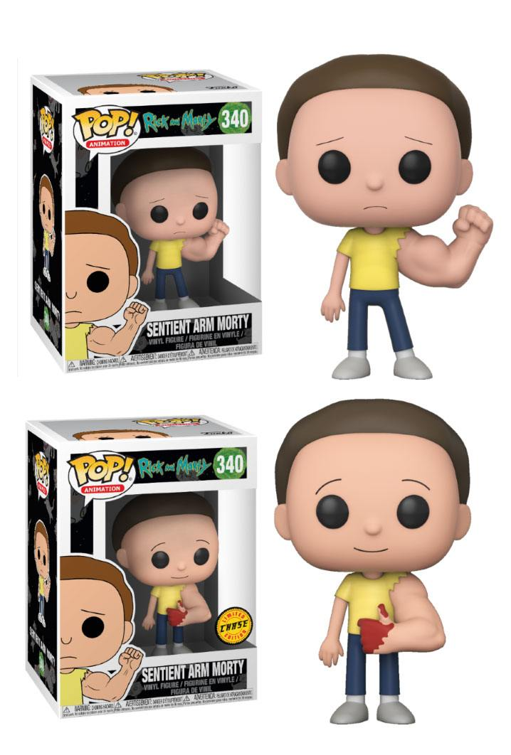 Rick and Morty POP! Animation Figures Sentinent Arm Morty 9 cm Assortment (6)