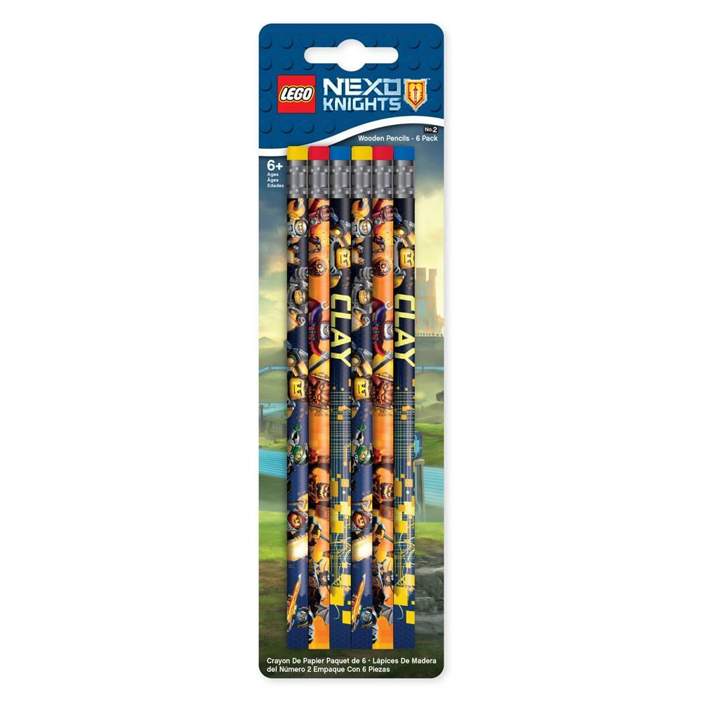 LEGO Nexo Knights Pencil 6-Pack