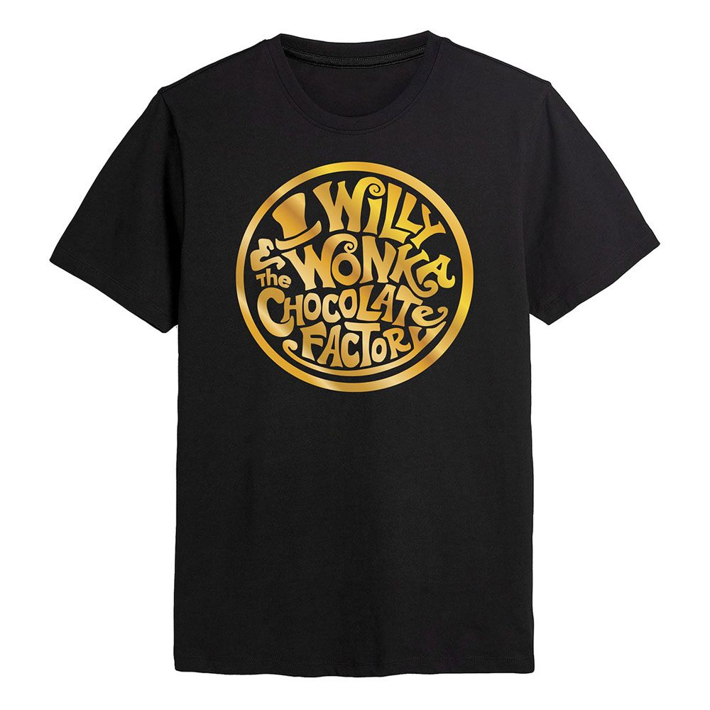Willy Wonka & the Chocolate Factory T-Shirt Circle Size S