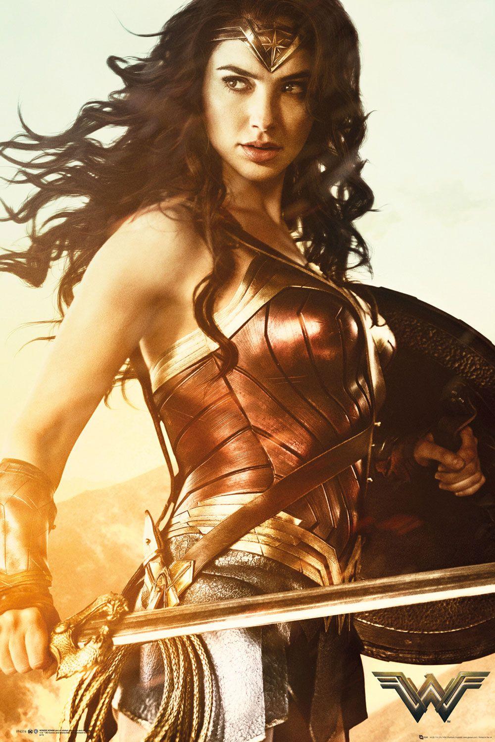 Wonder Woman Poster Pack Sword 61 x 91 cm (5)