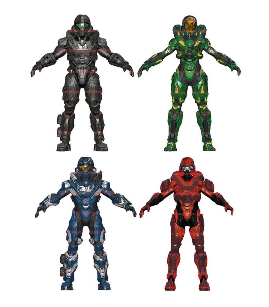 Halo 5 Guardians Action Figures Series 2 15 cm Assortment (8)