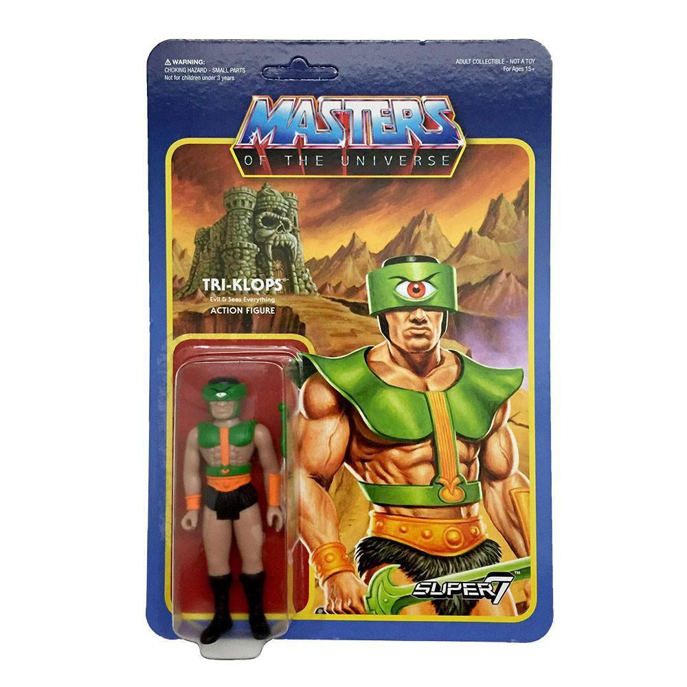 Masters of the Universe ReAction Action Figure Wave 2 Tri-Klops 10 cm