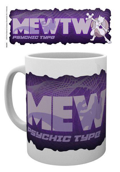 Pokemon Mug Mewtwo Type