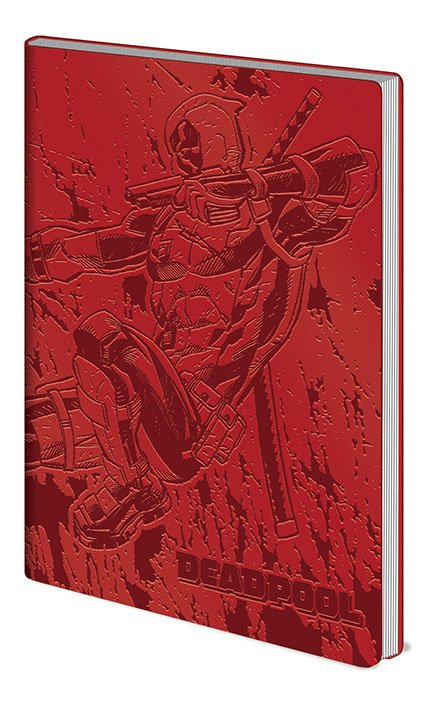Deadpool Flexi-Cover Notebook A5 Action